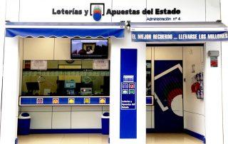 entrada-administracion-de-loteria-numero-4-en-benidorm-alicante-españa